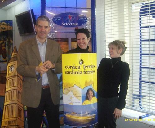Corsica Ferries : NF Grand Var la Valette et Pyramides Voyages récompensées