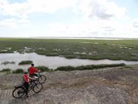 Parc naturel régional des Marais du Cotentin et du Bessin - Les marais à vélo © G.Aimard