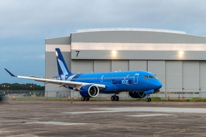 Breeze Airways possède une commande de 80 appareils chez Airbus - DR