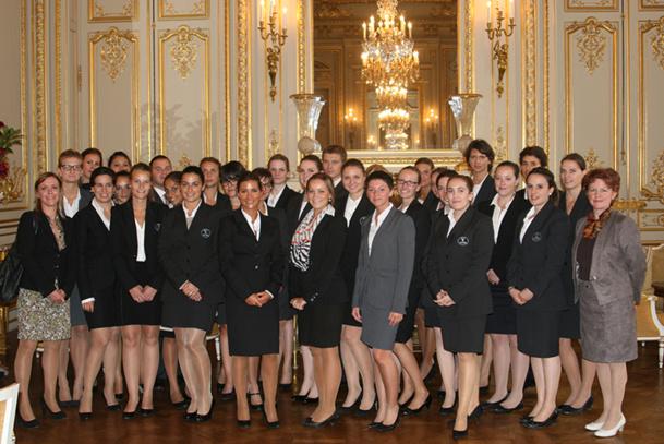 La première promotion regroupe 30 étudiants, dont 18 issus de l'école Vatel de Paris, 9 de Nîmes, 3 de Lyon et 1 de l'Ile Maurice - DR : Vatel