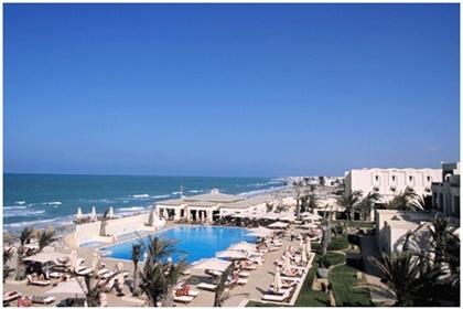Le Park Inn Djarba va devenir début octobre le Radisson Blu Ulysse resort & thalassa et créer des synergie avec l'établissement de même enseigne voisin. ©DR