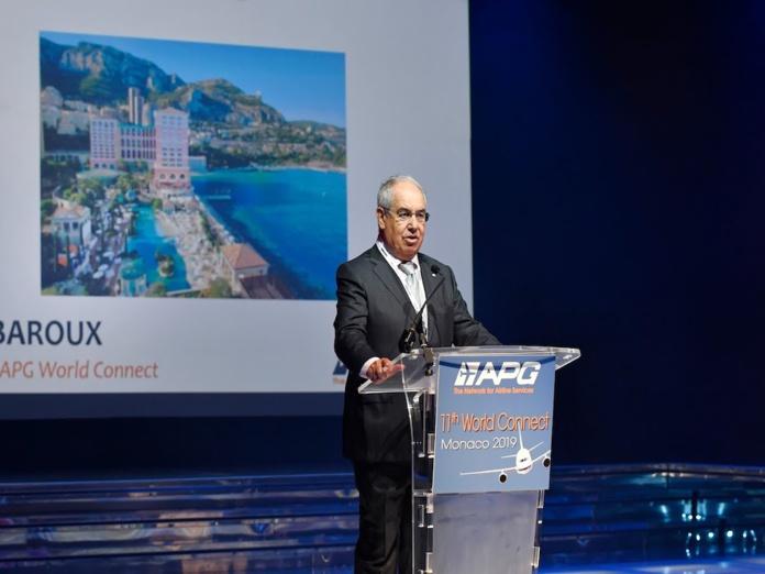 Jean-Louis Baroux à Monaco en 2019 © APG