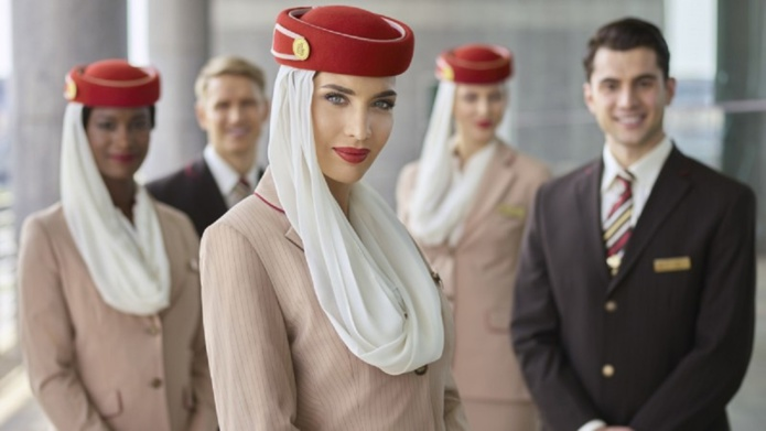 Emirates recrute 3 000 membres d'équipage et 500 agents des services aéroportuaires pour son hub de Dubaï.  - DR