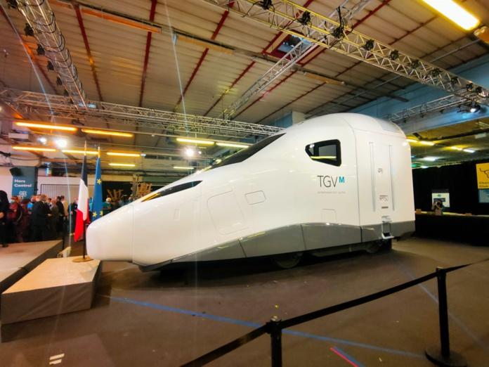 Le TGV M © PG TM
