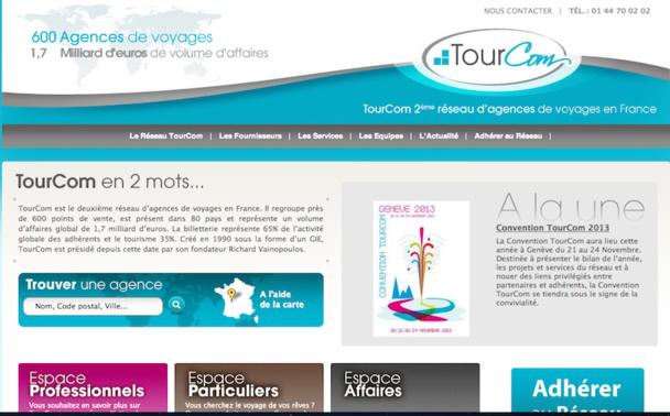 Le réseau Tourcom a décidé d'enrichir et de développer son site internet, www.tourcom.fr