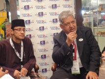 Dato'Mirza Mohammad Taiyab, DG Malaysia Tourism Promotion Board - Photo A.P.