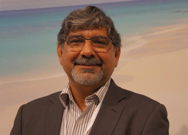 Freddy Karkaria Managing Director de Select Seychelles est présent jusqu'à vendredi sur le salon IFTM Top Resa à Paris - CE