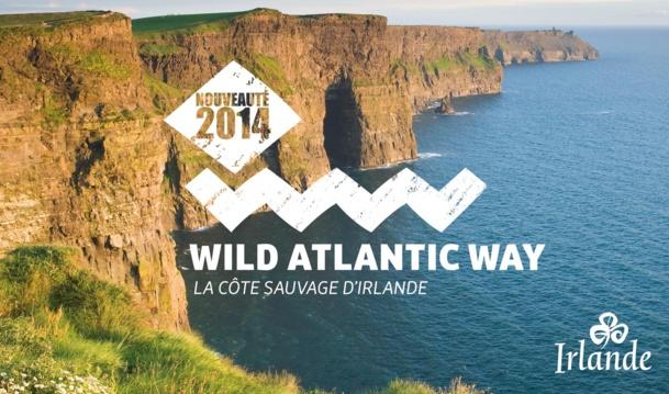 La Wild Atlantic Road, un nouveau produit touristique avec lequel l'Irlande espère séduire encore plus de Français. DR