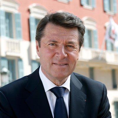 Christian Estrosi s'est prononcé en faveur d'une taxe carbone pour les véhicules qui embarquent sur les ferries au départ de Nice - Photo Twitter