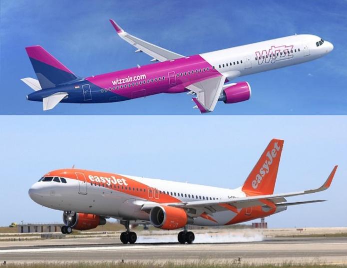 On a récemment appris que Wizz Air avait en tête de reprendre EasyJet, bien que cette offensive ait été pour le moment repoussée par le transporteur britannique et qu'elle doive fait l'objet du feu vert des autorités de la concurrence européenne. - DR