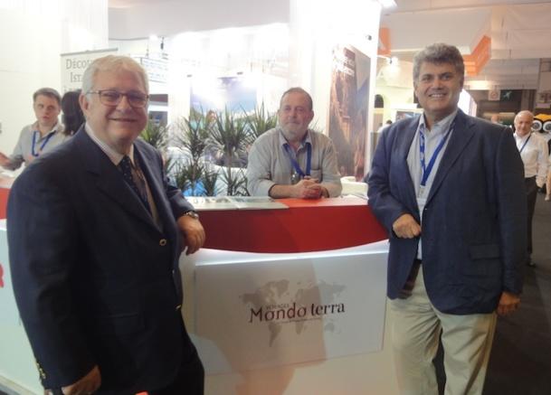 Fikret et Berge, les heureux représentants de Mondoterra