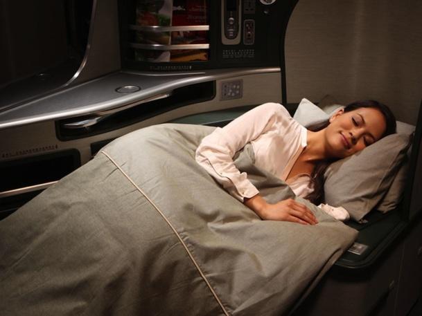 La compagnie Eva Air a dépensé 100 millions de dollars pour les nouveaux sièges affaires de la Royal Laurel Class. DR