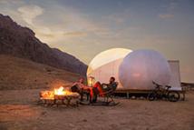 Jebel Hafit Desert Park © Abu Dhabi Department of Culture & Tourism