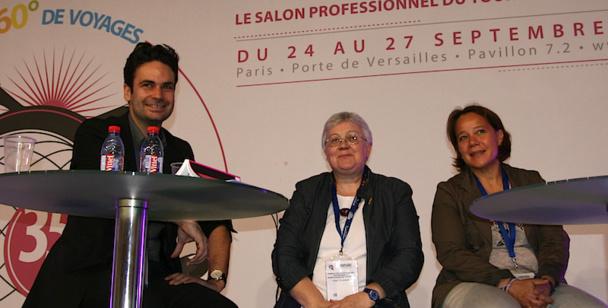 Les professionnels ont sensibilisé les étudiants aux problématiques du tourisme durable. DR