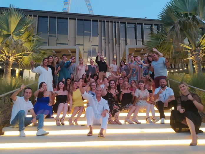 Thalasso N°1/Ôvoyages a organisé, en partenariat avec l'office de tourisme et la compagnie Emirates un eductour à Dubaï, avec trente agents de voyages du 19 au 23 septembre 2021. – CL