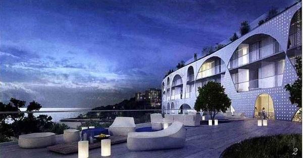 L'hôtel Westin 5 * du Cap d'Ail devrait être livré en 2016 - Photo DR