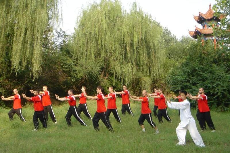 Basée sur des mouvements simples, souples et lents, cette gymnastique traditionnelle chinoise peut être pratiquée à tout âge et ne demande aucun prè-requis pour débuter.©Terre Chinoise