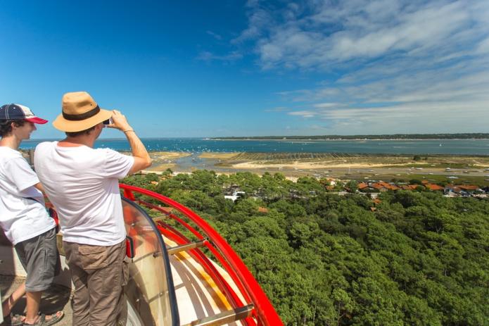 """Gironde Tourisme : """"Notre clientèle est composée à 14% de visiteurs étrangers, 56% de Français hors région et 30% de Néo-Aquitains"""" -  Photo Gironde Tourisme"""