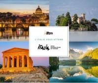 L'Italie présente sur l'IFTM avec quatre régions à l'honneur