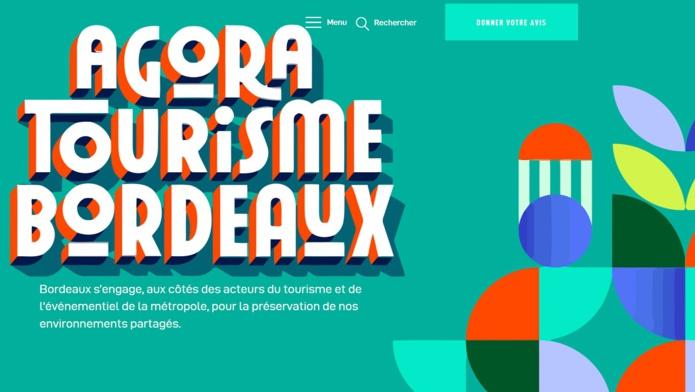 """Le site """"Agora pour le tourisme à Bordeaux Métropole"""" a été mis en ligne - DR"""