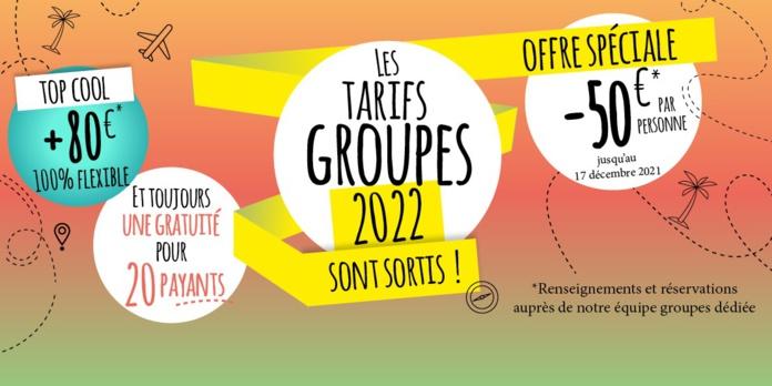 Groupes : Top of travel dans les starting-blocks pour 2022