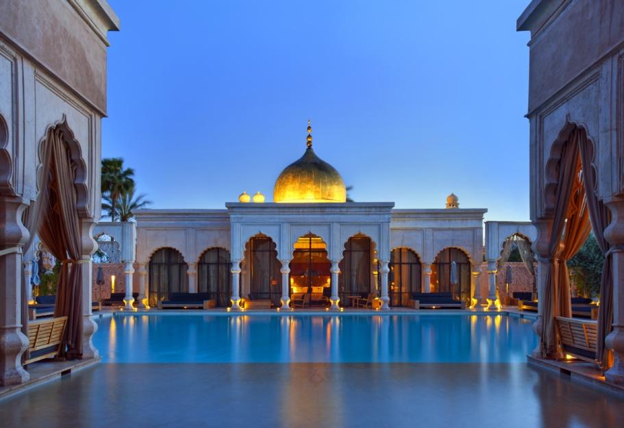 Marrakech : le Palais Namaskar se met à l'heure asiatique