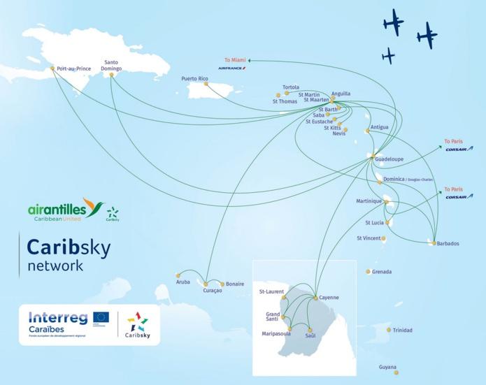 Après Sainte-Lucie, la Barbade et la Dominique, c'est Antigua qui devient désormais accessible au départ de Paris - DR : Air Antilles