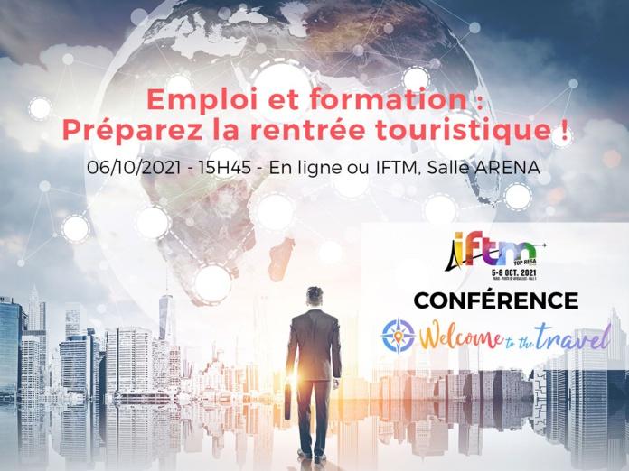 "TourMaG.com et Welcome to The Travel organisent une conférence ""Emploi et formation"" à l'IFTM TOP Resa - DR"