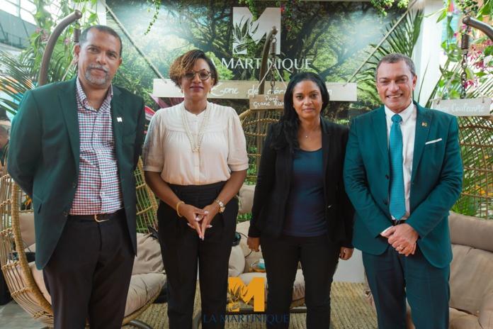 Thierry Blanc, Bénédicte di Géronimo, Françoise Riveti et François Baltus Languedoc - DR Martinique