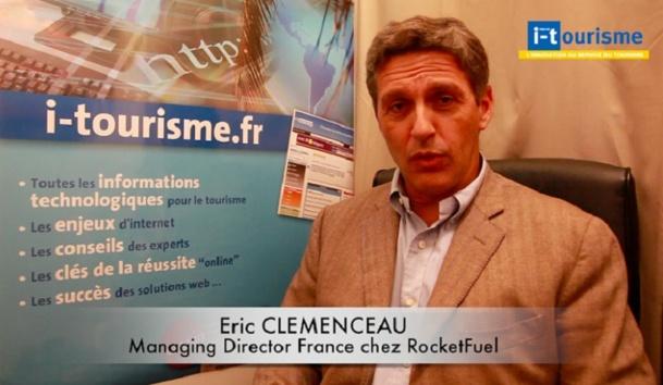 Eric Clemenceau, managing director France de RocketFuel