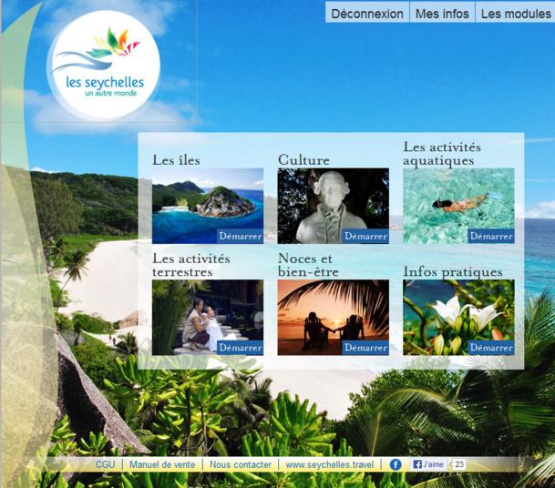 Les Seychelles lancent leur e-learning