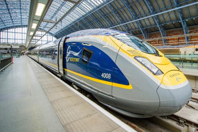 Pour Noël, ce sont 9 trains qui circuleront du 12 décembre au 8 janvier sur la ligne Paris-Londres - DR Eurostar