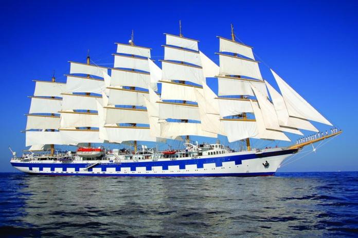 Le Royal Clipper a repris la mer en Méditerranée avant de rejoindre les Caraïbes - Photo DR Star Clippers