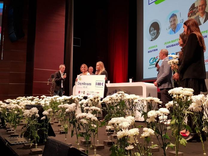 La start-up Aglaé et l'agence d'attractivité Attitude Manche ont été récompensées lors des ET17 - Crédit photo : RP