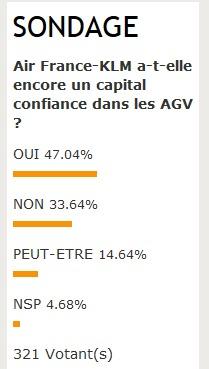 Air France garde encore un capital confiance dans les agences