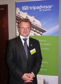 Massimiliano Gallo, directeur commercial France Bénélux - Photo M.B.