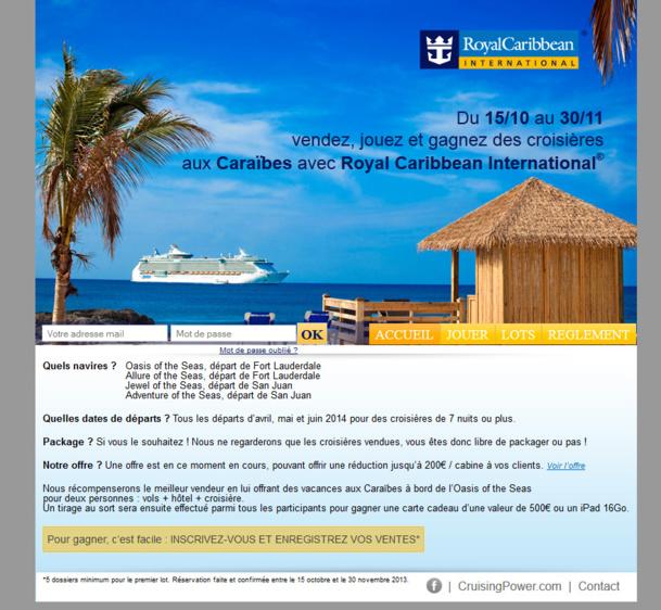 Royal Caribbean fait gagner un voyage aux Caraïbes !