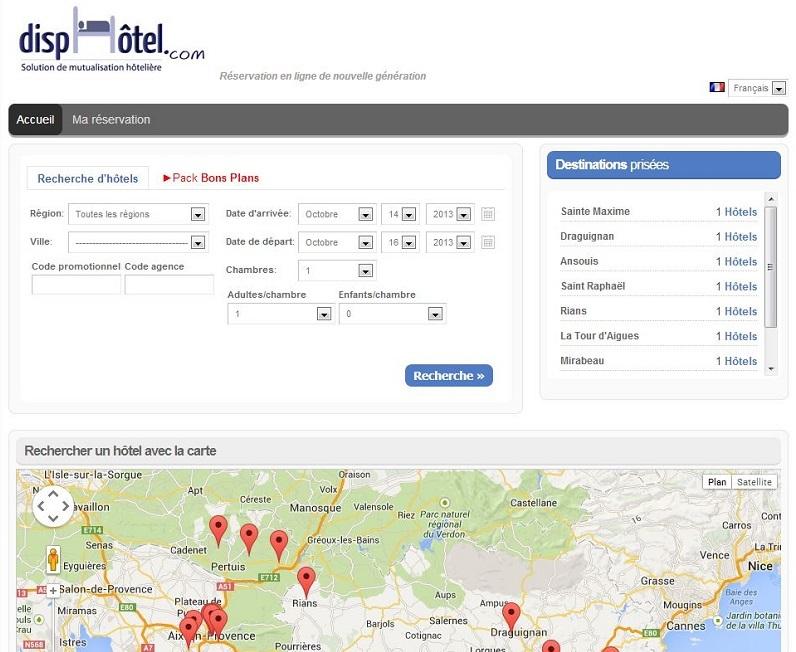 A la fois moteur de réservations hôtelières et portail fédérateur, dispHôtel offre une alternative aux hôteliers indépendants.
