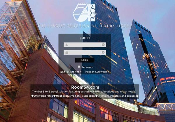 Room 54, tout le luxe en ligne.... et rien d'autre !