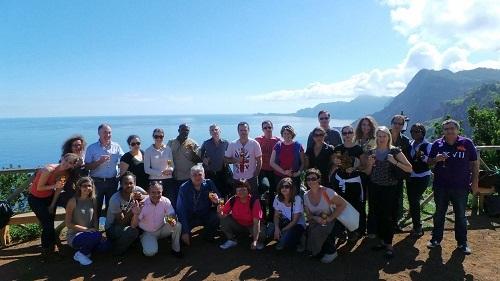L'eductour/workshop a réuni une trentaine de professionnels à porto et à Madère - Photo DR