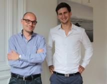 Les deux associés de Barteo: Tony Grippon et Thomas Hiley.