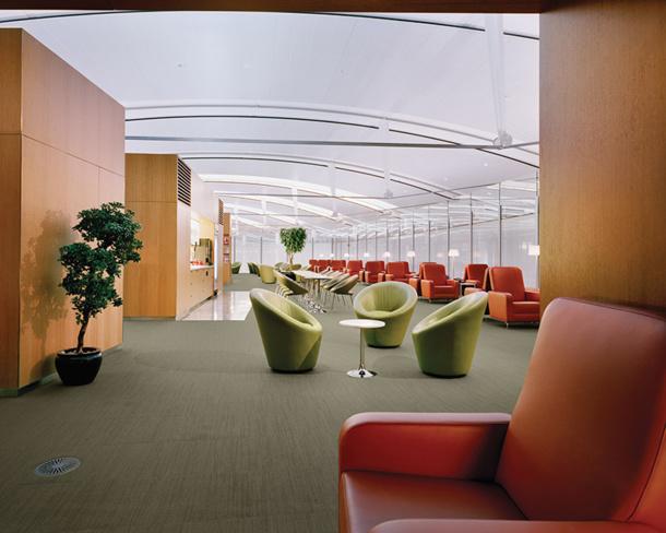 Le nouveau salon s'étend sur 726 mètres carrés - DR : Air Canada