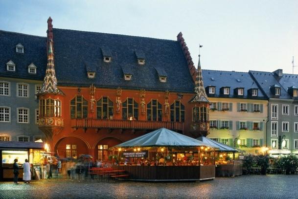 La ville de Fribourg veut profiter de sa nouvelle desserte de TGV pour attirer les Français. DR