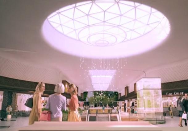 Aéroville vise une fréquentation de 12 millions de visiteurs par an - Capture d'écran