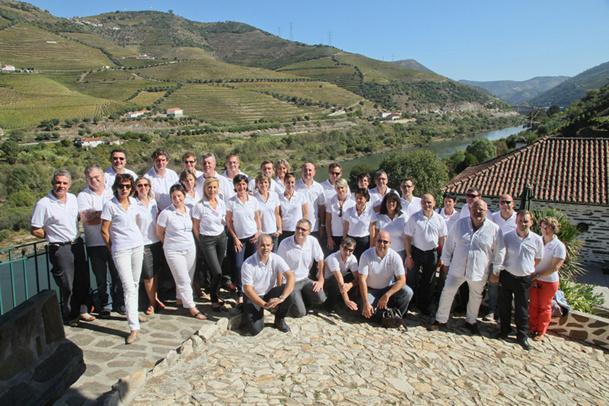 Une quarantaine de participants ont pu découvrir durant 4 jours la Vallée du Douro et ses caves de production de Porto - DR