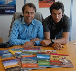 Xavier Descamps et Tanguy Dadon co-présidents de Tourisport Company - Crédit M.Gounot