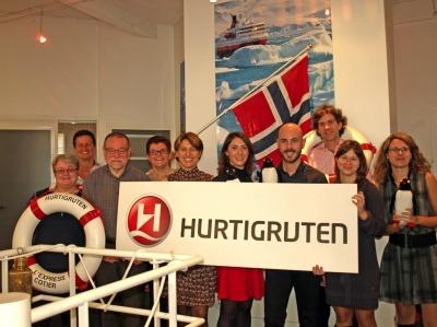 Le bureau parisien d'Hurtigruten a ouvert ses portes le 21 octobre 2003 - Photo DR