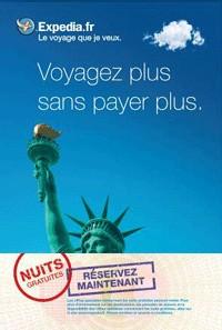 Expedia.fr lance une opération ''Nuits gratuites''