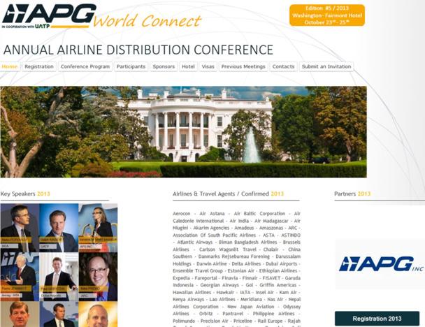 Coup d'envoi de l'APG World Connect à Washington !