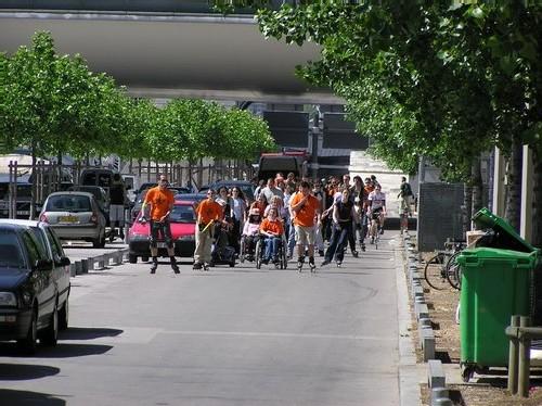 Mobile en Ville : des randos pour personnes valides et invalides